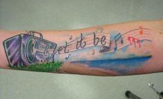 People often find inspiration in the lyrics of their favorite songs and it's only natural to want to get those words inked on to their body. Check out this gallery of some of our favorite tattoos f...
