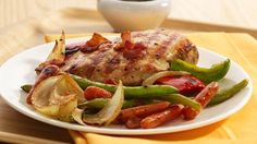 Tangy Bacon-Chicken Grill