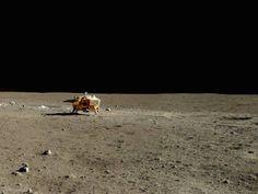 Des photos du premier alunissage de la Chine [Espace insolite Lune Transport]