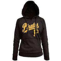 Pittsburgh Pirates Women's Pullover Fleece Hood by 5th & Ocean - MLB.com Shop
