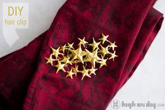 Rodarte Shooting Star Hair Clip DIY