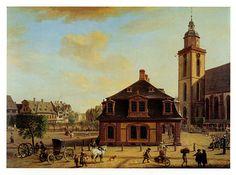 Christian Georg Schütz d. Ä. (Flörsheim/Main 1718 - 1791 Frankfurt/Main), Hauptwache Frankfurt/Main , 1754.