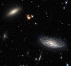 The buddy system - 50 gorgeous photos of outer space - CBS News Carl Sagan, Nasa Juno, Juno Spacecraft, Saturns Moons, Nasa Goddard, Space Probe, Theme Tattoo, Nasa Images, Spiral Galaxy