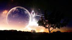 Lunar Attraction Computer Background