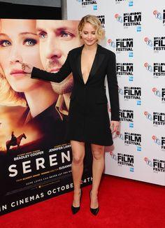 Jennifer Lawrence à L'avant Première de Serena