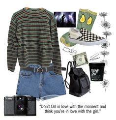 """5. She's American"" by thatssokalea on Polyvore. #fashion #outfit #90sfashion #90s #grunge #tumblr"