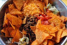 Doritos Taco Ranch Salad