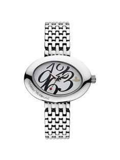 Womens Stainless Steel Oval Watch by Vivienne Westwood
