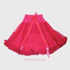 "Fuchsia 17"" petticoat from bridezillas.biz £56.00"