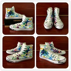 83b66c41caa949 Men Women High Top Converse All Star Nature Forest Selva Birds Original  Design Hand Painted Shoes Unisex Sneakers Birthday Gifts-in Skateboarding  from ...