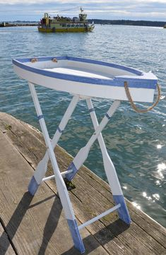 whimsical folding boat table