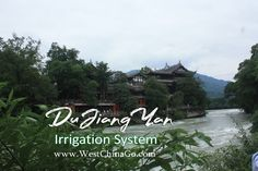 Dujiangyan Irrigation System Tours ChengDu WestChinaGo Travel Service www.WestChinaGo.com Tel:+86-135-4089-3980 info@WestChinaGo.com Chengdu, Irrigation, Tours, River, Outdoor, Outdoors, Outdoor Games, Outdoor Life, Rivers