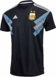 5130ee115 adidas Argentina Official 2018 Away Soccer Football Jersey (eBay Link)  Argentina Team