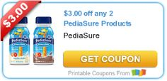 $3.00 off any 2 PediaSure Products