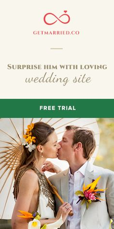 GetMarried.Co - An ideal choice for your #bridal #website. 30 day #free trial, join now! http://getmarried.co/