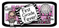 First Grade Fever Blog ~ I've caught that First Grade Fever! I have taught second grade, prek & now first grade and I absolutely LOVE it! I enjoy creating and sharing fun activities that instill a love of learning in my students!