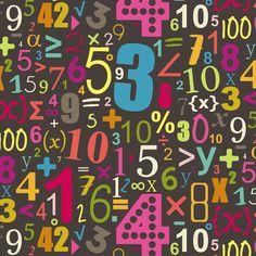 girl chocca numbers fabric by scrummy on Spoonflower - custom fabric