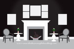 Mantle display guide - 7 Images