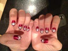 Holiday nail art - Ellisy