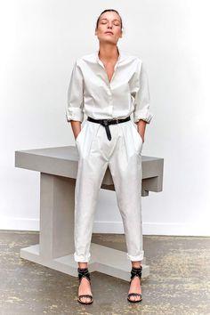 Niza ivory cotton shirt