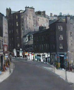 Stockbridge, Edinburgh by Ethel Walker Date painted: 1986 Oil on board, 111.7 x 94 cm Collection: City of Edinburgh Council
