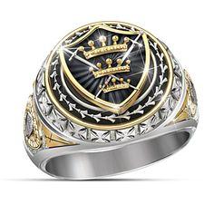 The Legend Of Excalibur Ring