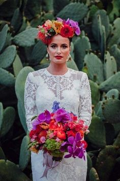 """Casamiento"""" Mexican Inspired Shoot What I Like: Well, of course of the Frida inspiration I adore! The lace pattern catches my eye.What I Like: Well, of course of the Frida inspiration I adore! The lace pattern catches my eye. Wedding Shoot, Our Wedding, Destination Wedding, Dream Wedding, Wedding Venues, Wedding Planning, Latin Wedding, Luxury Wedding, Frida Kahlo Wedding"""