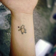 winnie the pooh | 24 Tattoos So Tiny Even Your Mom Won't Hate Them