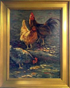 """""""Different Feathers"""" by Lu Haskew available through Columbine Gallery on Amazon Fine Art"""