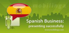 Spanish Presenting