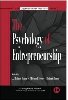 This book includes more than 60 research questions to guide industrial organizational psychology researchers, organizational behavior researchers, and entrepreneurship researchers about entrepreneurs. Topics include: Methods to help researchers explore the domain of entrepreneurship. Characteristics of the individual entrepreneur. The history of entrepreneurship. The cross-cultural effects of entrepreneurship. (...)  Cote	: 9-4721-203 PSY