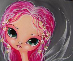 Pink Blossom Fairy by Megan K. Suarez,