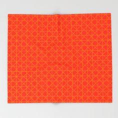 Neat Yellow Netting Throw Blanket
