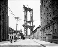 Manhattan Bridge  NYC Dept of Records itsonline photo database- 1908