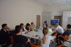 Wczoraj ekipie z Białorusi prezentowaliśmy jak można wykorzystać różne dane rowerowe jak prezentować oraz skąd pozyskać. #lublin #rower #bialorus #dane #prezentacja