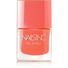 Nails inc Gel Effect Nail Polish - Kensington Passage ($23) ❤ liked on Polyvore featuring beauty products, nail care, nail polish, beauty, nails, makeup, fillers, nails inc., gel nail color and nails inc nail polish
