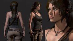 Lara  - Rise of the Tomb Raider, Dan Roarty on ArtStation at https://www.artstation.com/artwork/o0xmq