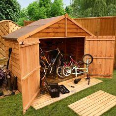 The BillyOh Apex Bike Store Range - Bike Storage - Garden Buildings Direct