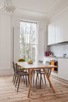 ChicDecó:   Beautiful period house in London • Kitchen