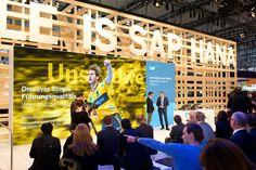 SAP AG - CeBIT 2015 Discover Simple | Marken- und Design-Agentur Zeichen & Wunder | Corporate Design CD | Corporate Identity CI | Messe Retail PoS