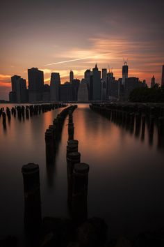 NYC. View of Manhattan from Brooklyn