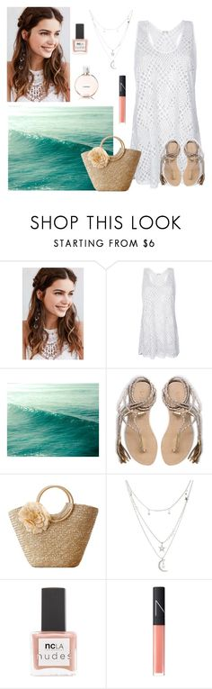 """Spring look"" by babis117 ❤ liked on Polyvore featuring REGALROSE, L*Space, Charlotte Russe, ncLA, NARS Cosmetics and Chanel"