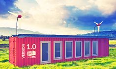 Sustainer Homes developed a shipping container house that lets you live off-grid anywhere you want.
