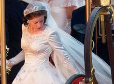 Elizabeth vestido de noiva, The Crown