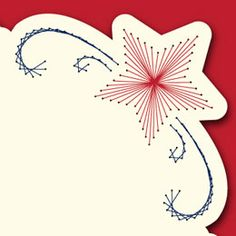 Latest Trend In Embroidery on Paper Ideas. Phenomenal Embroidery on Paper Ideas. Embroidery Cards, Embroidery Patterns, Holiday Cards, Christmas Cards, Pin Card, Christmas Tree Pattern, Iris Folding, Thread Art, Free Christmas Printables