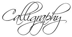 Free calligraphy fonts for download.