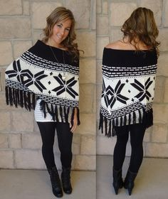 This is one of our most favorite ponchos ever!
