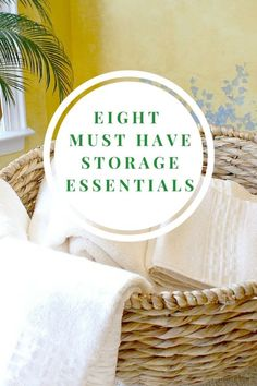 Wouldn't it be nice if your home was spotless every day, even with kids? A good start is making sure there is a place for everything, and everything goes in its place. The key to that is having the correct storage essentials. We have a list of must-have's that should get you started on your way to an organized home!