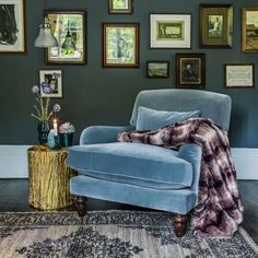 Kensington Armchair And Footstool | Seating | Graham & Green