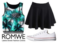 """""""Untitled #289"""" by l-have-secrets ❤ liked on Polyvore featuring Converse"""